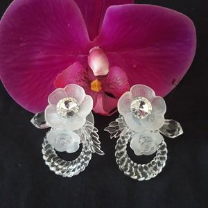 Vintage Fashion Floral Earrings